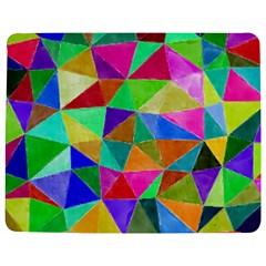 Triangles, colorful watercolor art  painting Jigsaw Puzzle Photo Stand (Rectangular)
