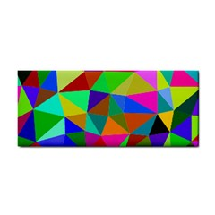 Colorful Triangles, oil painting art Cosmetic Storage Cases