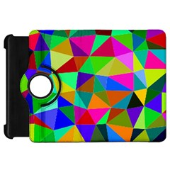 Colorful Triangles, oil painting art Kindle Fire HD 7