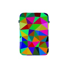 Colorful Triangles, oil painting art Apple iPad Mini Protective Soft Cases
