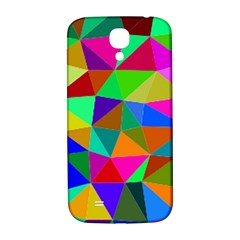Colorful Triangles, oil painting art Samsung Galaxy S4 I9500/I9505  Hardshell Back Case