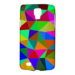 Colorful Triangles, oil painting art Galaxy S4 Active