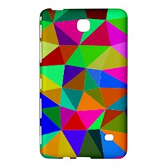 Colorful Triangles, oil painting art Samsung Galaxy Tab 4 (7 ) Hardshell Case