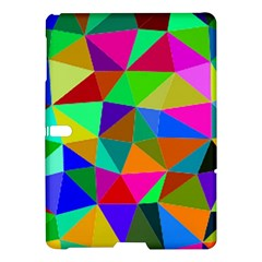 Colorful Triangles, oil painting art Samsung Galaxy Tab S (10.5 ) Hardshell Case
