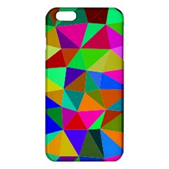 Colorful Triangles, oil painting art iPhone 6 Plus/6S Plus TPU Case