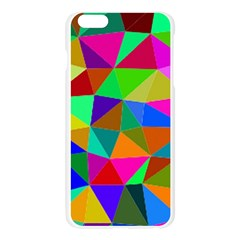 Colorful Triangles, oil painting art Apple Seamless iPhone 6 Plus/6S Plus Case (Transparent)