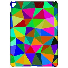 Colorful Triangles, Oil Painting Art Apple Ipad Pro 12 9   Hardshell Case