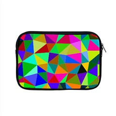 Colorful Triangles, Oil Painting Art Apple Macbook Pro 15  Zipper Case