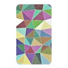 Colorful Triangles, pencil drawing art Memory Card Reader
