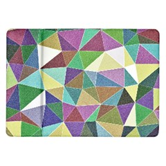Colorful Triangles, pencil drawing art Samsung Galaxy Tab 10.1  P7500 Flip Case
