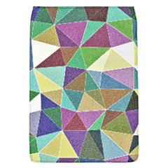 Colorful Triangles, pencil drawing art Flap Covers (L)