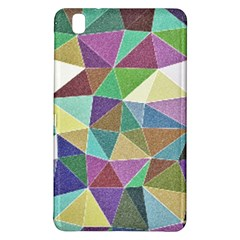 Colorful Triangles, pencil drawing art Samsung Galaxy Tab Pro 8.4 Hardshell Case