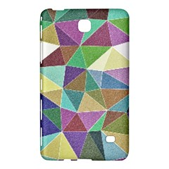 Colorful Triangles, pencil drawing art Samsung Galaxy Tab 4 (8 ) Hardshell Case