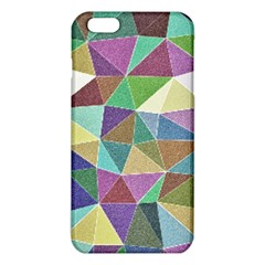 Colorful Triangles, pencil drawing art iPhone 6 Plus/6S Plus TPU Case