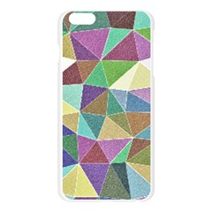 Colorful Triangles, pencil drawing art Apple Seamless iPhone 6 Plus/6S Plus Case (Transparent)