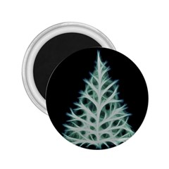 Christmas fir, green and black color 2.25  Magnets