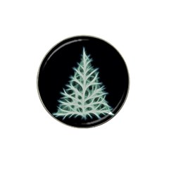 Christmas fir, green and black color Hat Clip Ball Marker (4 pack)