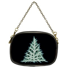 Christmas fir, green and black color Chain Purses (Two Sides)