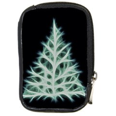 Christmas fir, green and black color Compact Camera Cases
