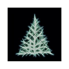 Christmas fir, green and black color Acrylic Tangram Puzzle (6  x 6 )