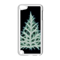 Christmas fir, green and black color Apple iPod Touch 5 Case (White)