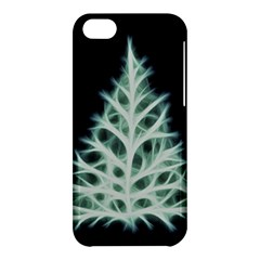 Christmas fir, green and black color Apple iPhone 5C Hardshell Case