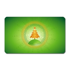 Beautiful Christmas Tree Design Magnet (Rectangular)