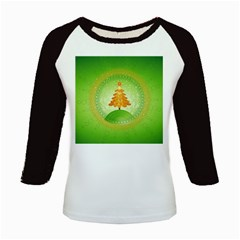 Beautiful Christmas Tree Design Kids Baseball Jerseys