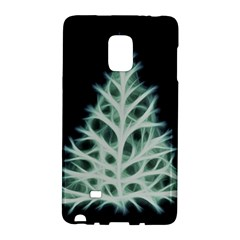 Christmas fir, green and black color Galaxy Note Edge