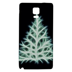 Christmas fir, green and black color Galaxy Note 4 Back Case