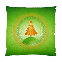 Beautiful Christmas Tree Design Standard Cushion Case (Two Sides)
