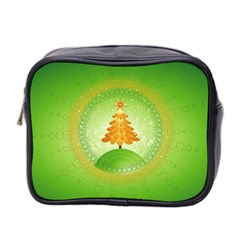 Beautiful Christmas Tree Design Mini Toiletries Bag 2-Side