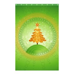 Beautiful Christmas Tree Design Shower Curtain 48  x 72  (Small)