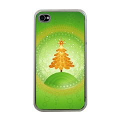 Beautiful Christmas Tree Design Apple iPhone 4 Case (Clear)