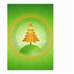 Beautiful Christmas Tree Design Small Garden Flag (Two Sides)
