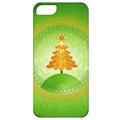 Beautiful Christmas Tree Design Apple iPhone 5 Classic Hardshell Case