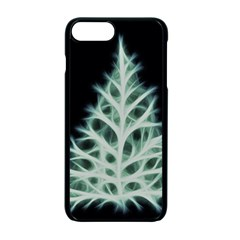 Christmas fir, green and black color Apple iPhone 7 Plus Seamless Case (Black)