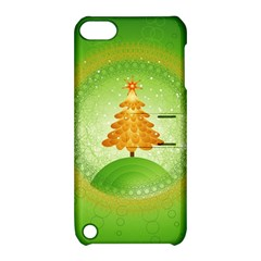 Beautiful Christmas Tree Design Apple iPod Touch 5 Hardshell Case with Stand