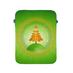 Beautiful Christmas Tree Design Apple iPad 2/3/4 Protective Soft Cases