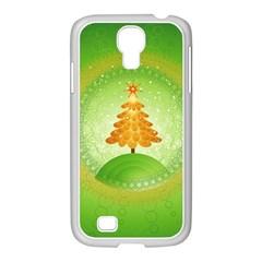 Beautiful Christmas Tree Design Samsung GALAXY S4 I9500/ I9505 Case (White)