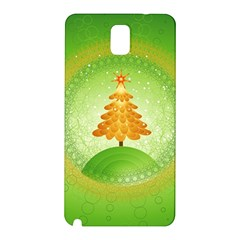 Beautiful Christmas Tree Design Samsung Galaxy Note 3 N9005 Hardshell Back Case