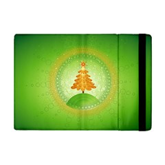Beautiful Christmas Tree Design iPad Mini 2 Flip Cases