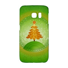 Beautiful Christmas Tree Design Galaxy S6 Edge