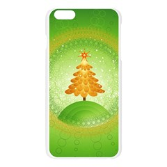 Beautiful Christmas Tree Design Apple Seamless iPhone 6 Plus/6S Plus Case (Transparent)