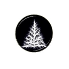 Christmas fir, black and white Hat Clip Ball Marker (10 pack)