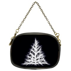 Christmas fir, black and white Chain Purses (Two Sides)