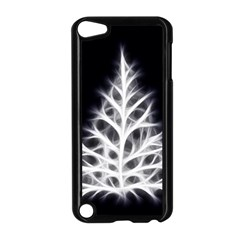 Christmas fir, black and white Apple iPod Touch 5 Case (Black)