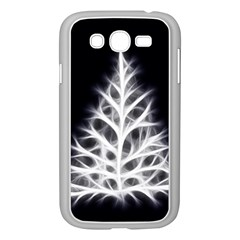Christmas fir, black and white Samsung Galaxy Grand DUOS I9082 Case (White)