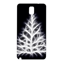 Christmas fir, black and white Samsung Galaxy Note 3 N9005 Hardshell Back Case