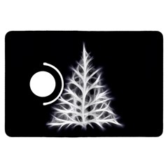 Christmas fir, black and white Kindle Fire HDX Flip 360 Case